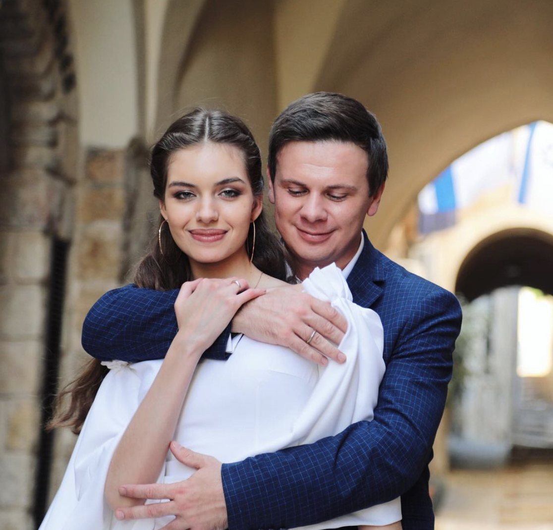 Александра Кучеренко и Дмитрий Комаров вместе всего два года
