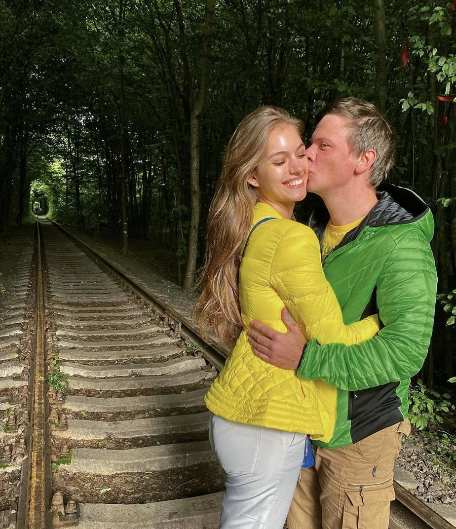 Александра Кучеренко и Дмитрий Комаров любят вместе путешествовать