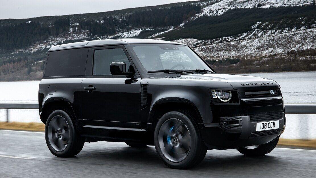 Defender SVR будет использовать 5-литровый V8 мощностью свыше 600 л.с.