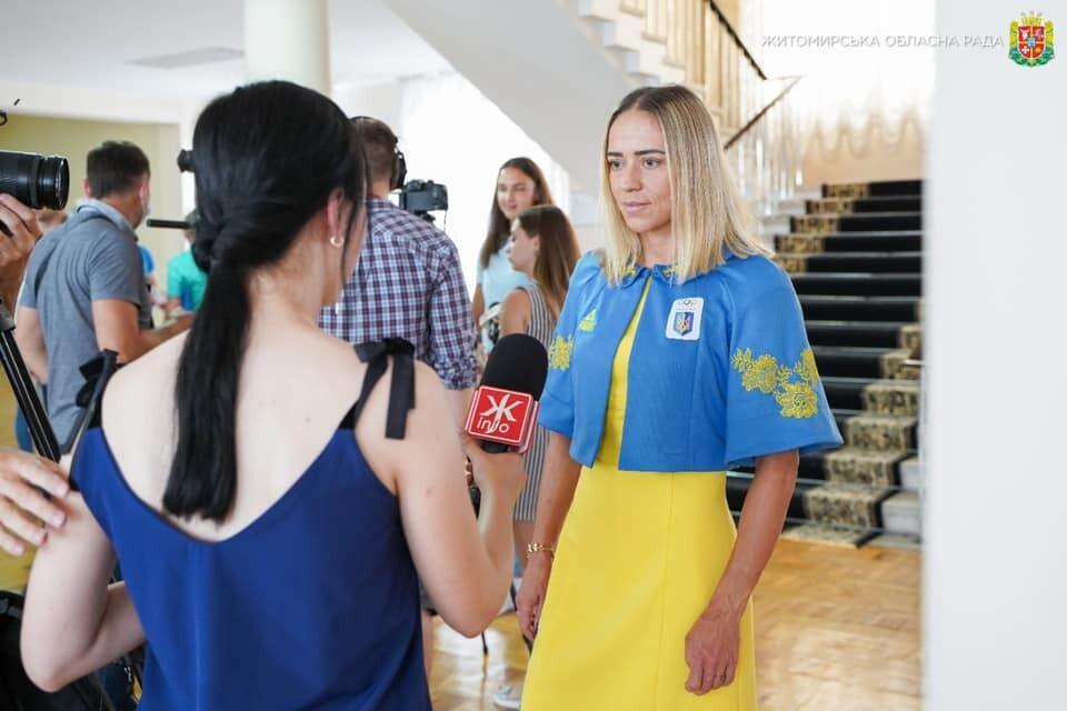 Юлия Елистратова перед поездкой на ОИ