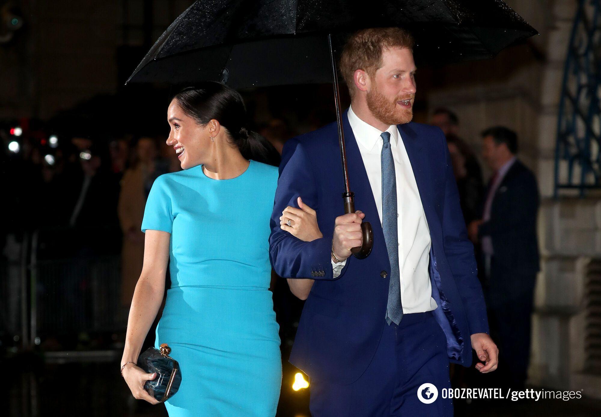 Меган Маркл та її чоловік принц Гаррі