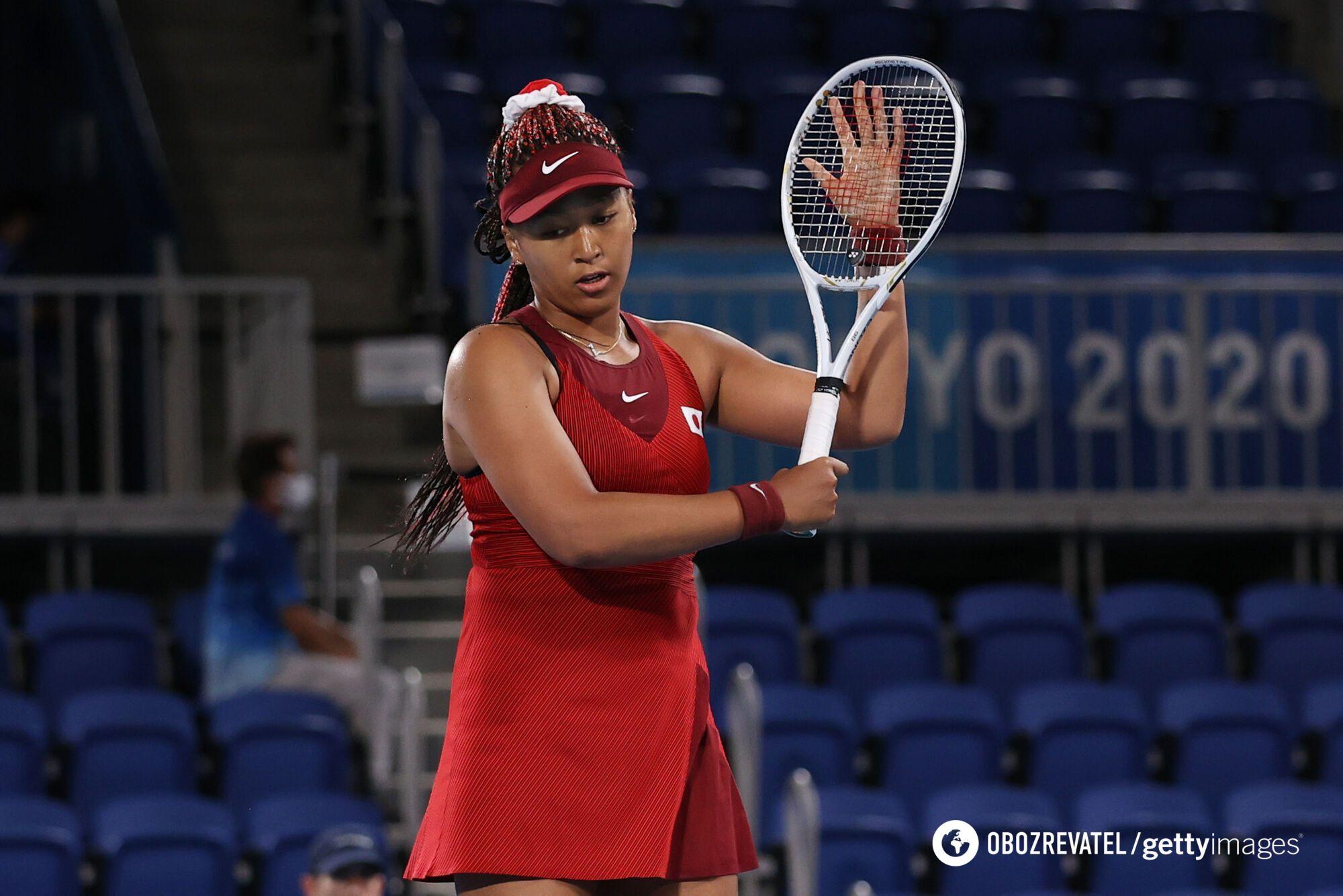 Наомі Осака вилетіла в 1/8 фіналу