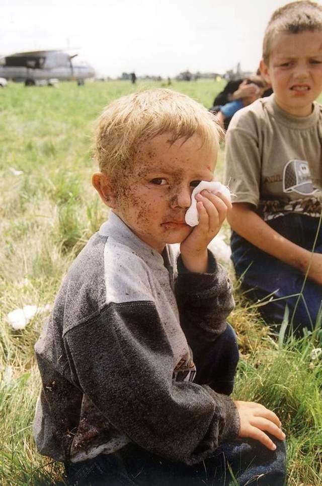 Трирічний Остап Хміль, мати якого, Галина Хміль, загинула в Скнилівській катастрофі, закривши собою сина. Фото Є. Кравса