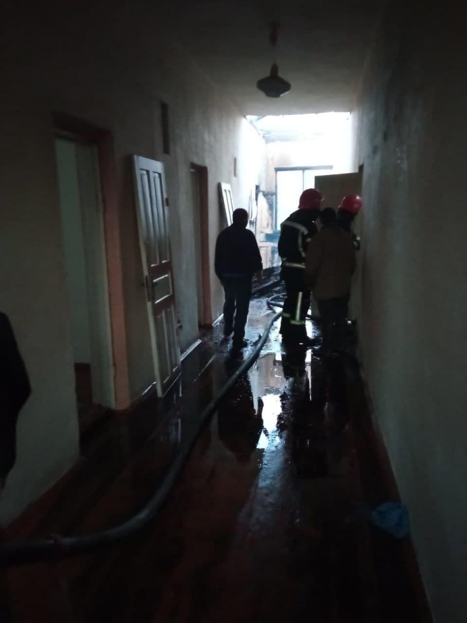 Вогнеборці й селяни врятували майно школи