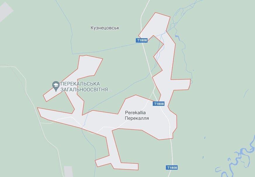 Школа горіла в селі Перекалля