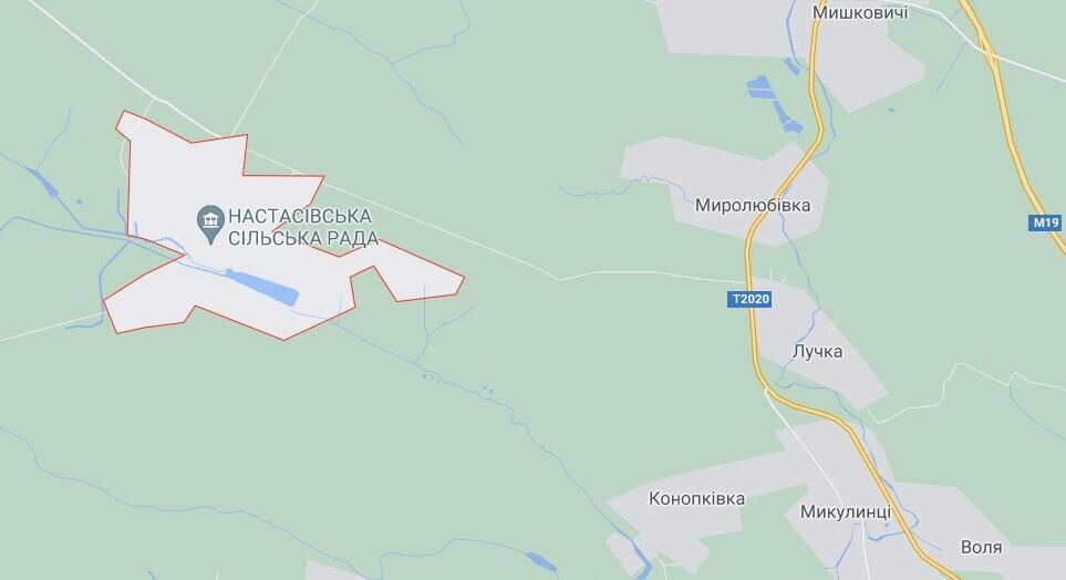 Злочин трапився в селі Настасів