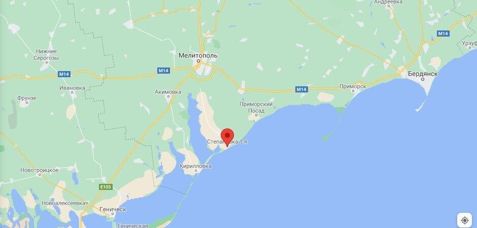 Де розташована Степанівка-1