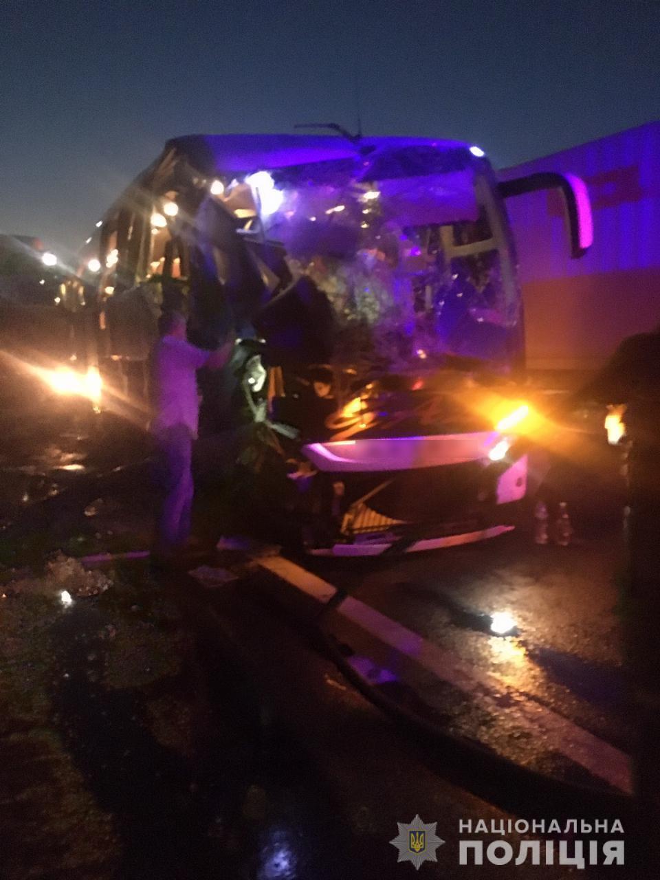 Погиб один пассажир автобуса, который ехал из Молдовы