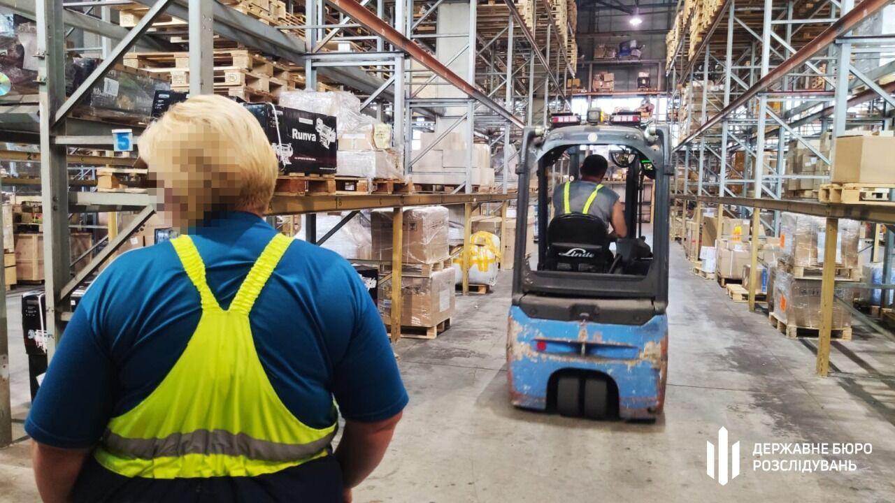 Работники склада