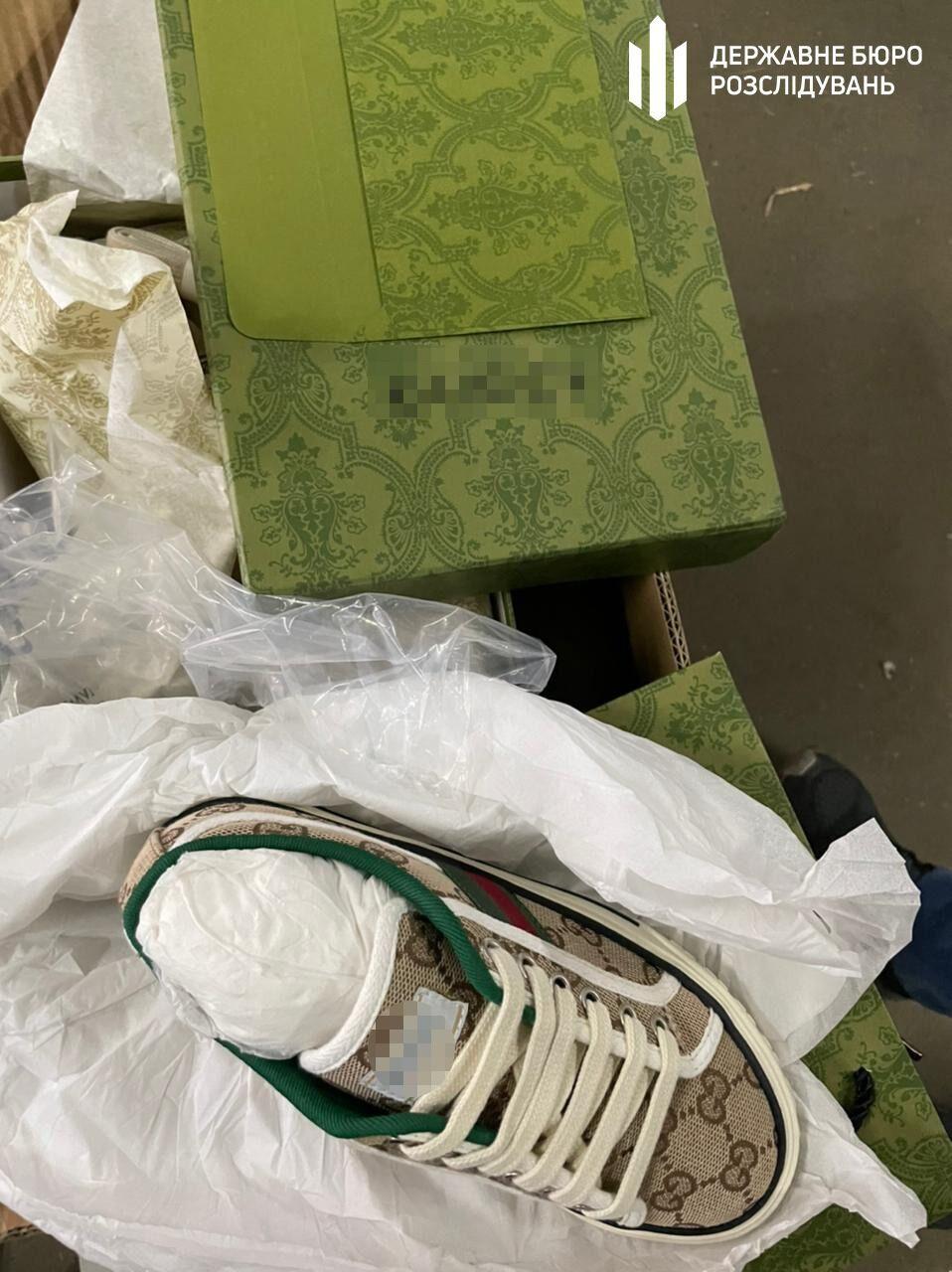 Контрабандный товар (обувь)