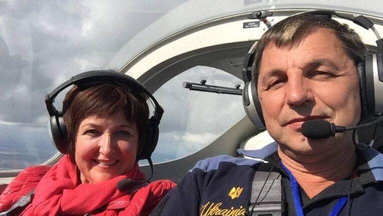 Игорь Табанюк с женой Оксаной