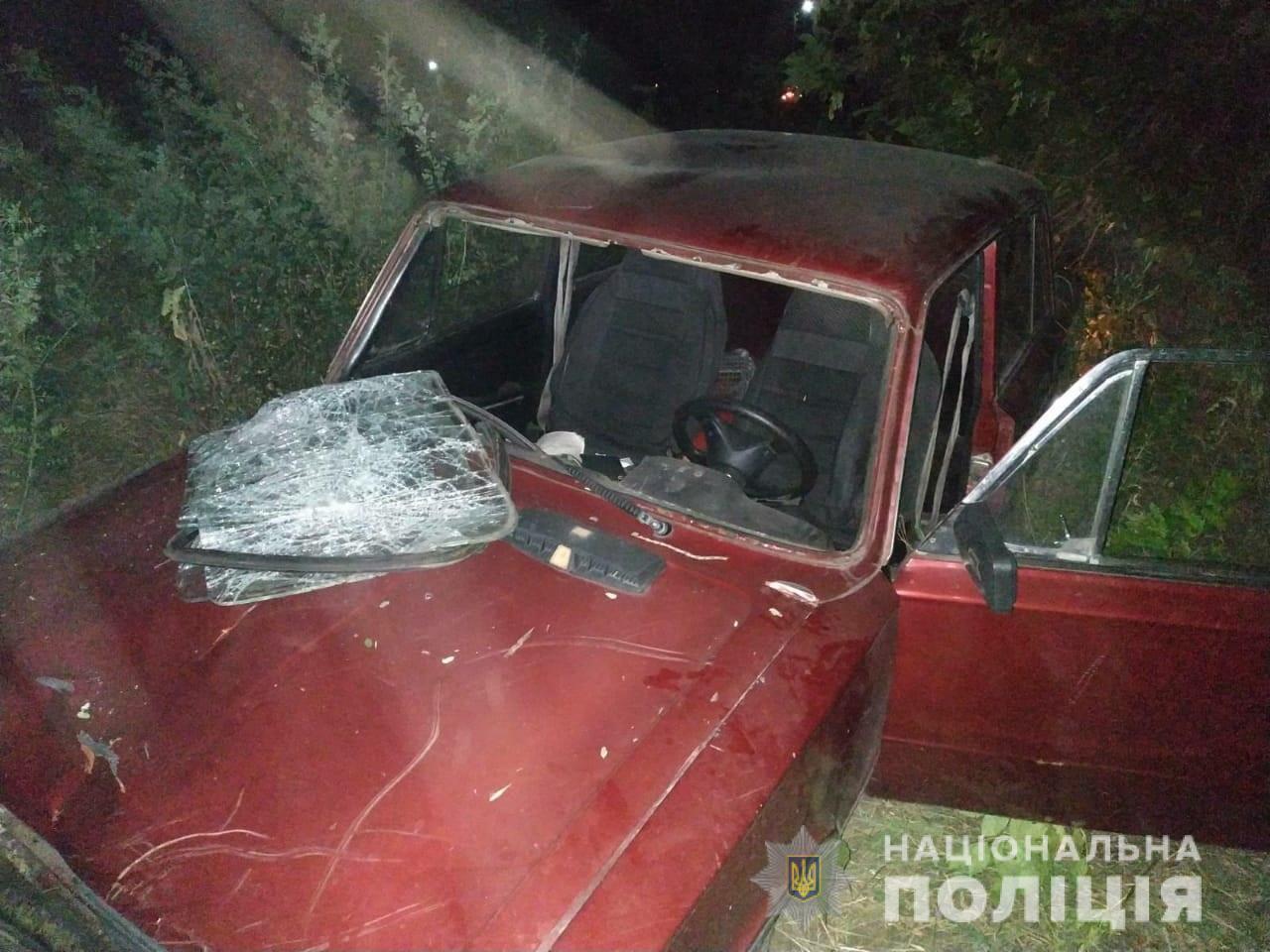 Авто обнаружили за пределами посёлка в посадке