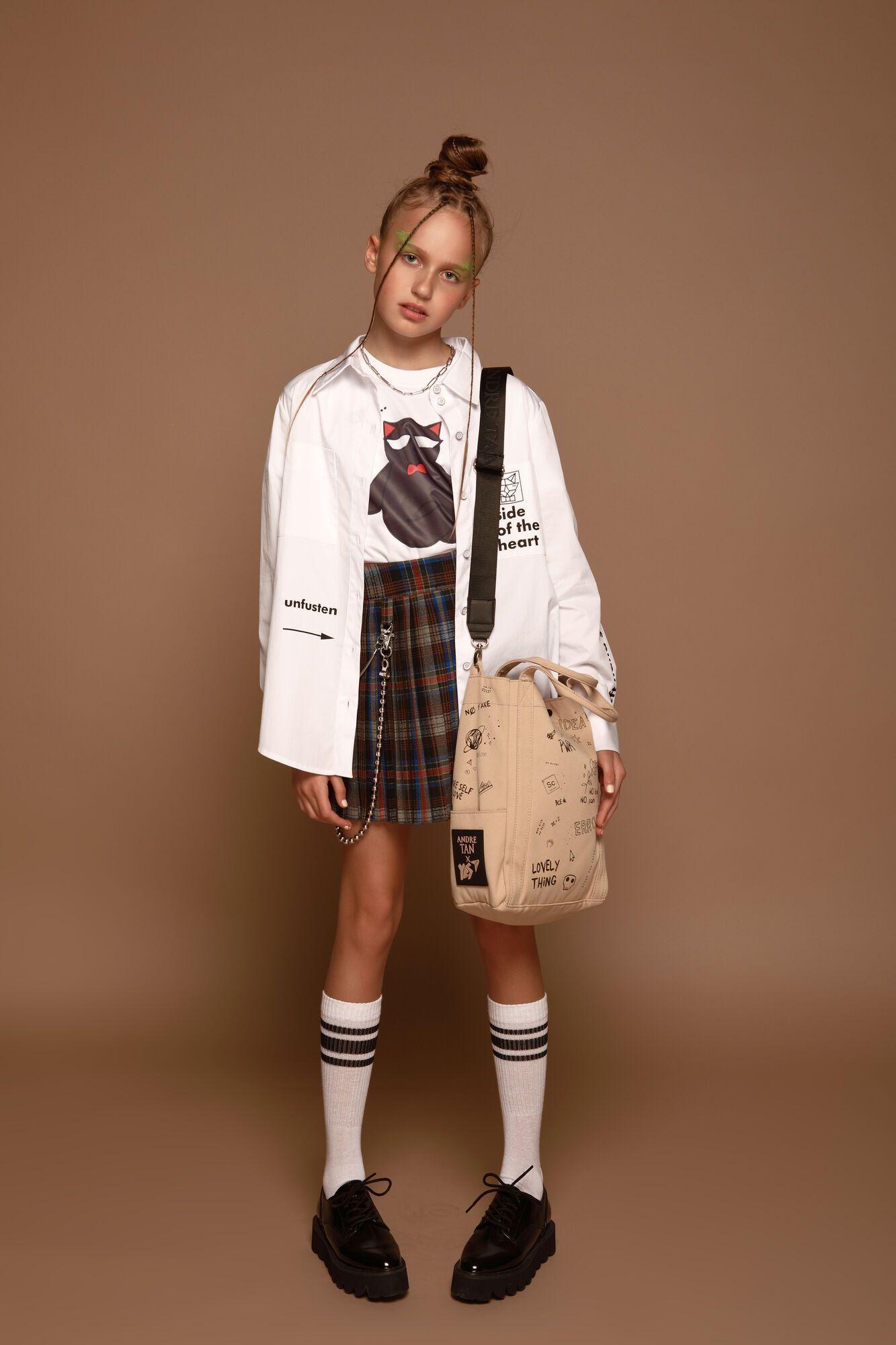 Новая коллекция отражает мировые тренды и личное представление дизайнера о современная одежда для детей