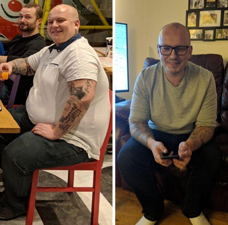 Чоловік сильно схуд