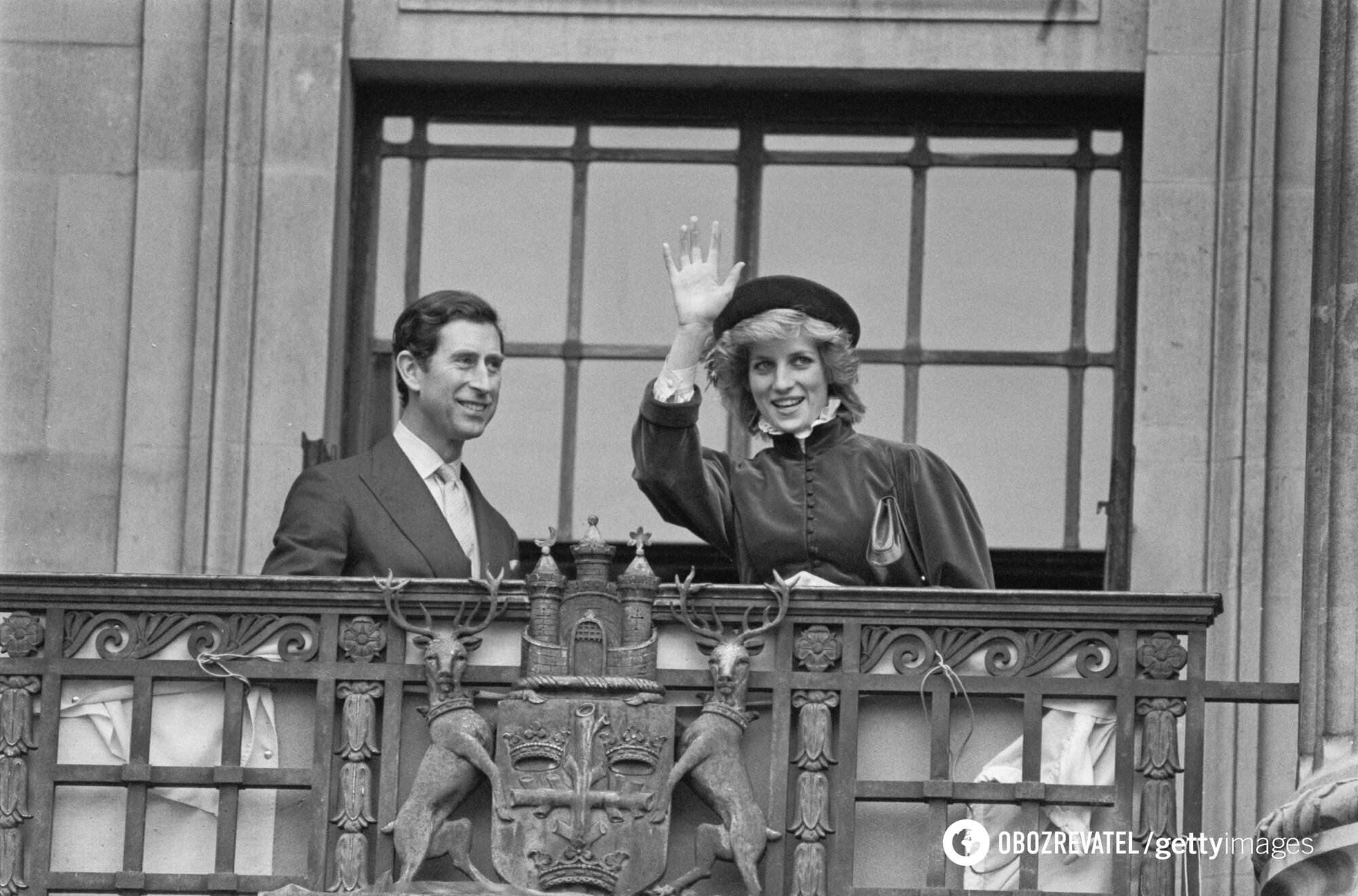Архивное фото королевской пары