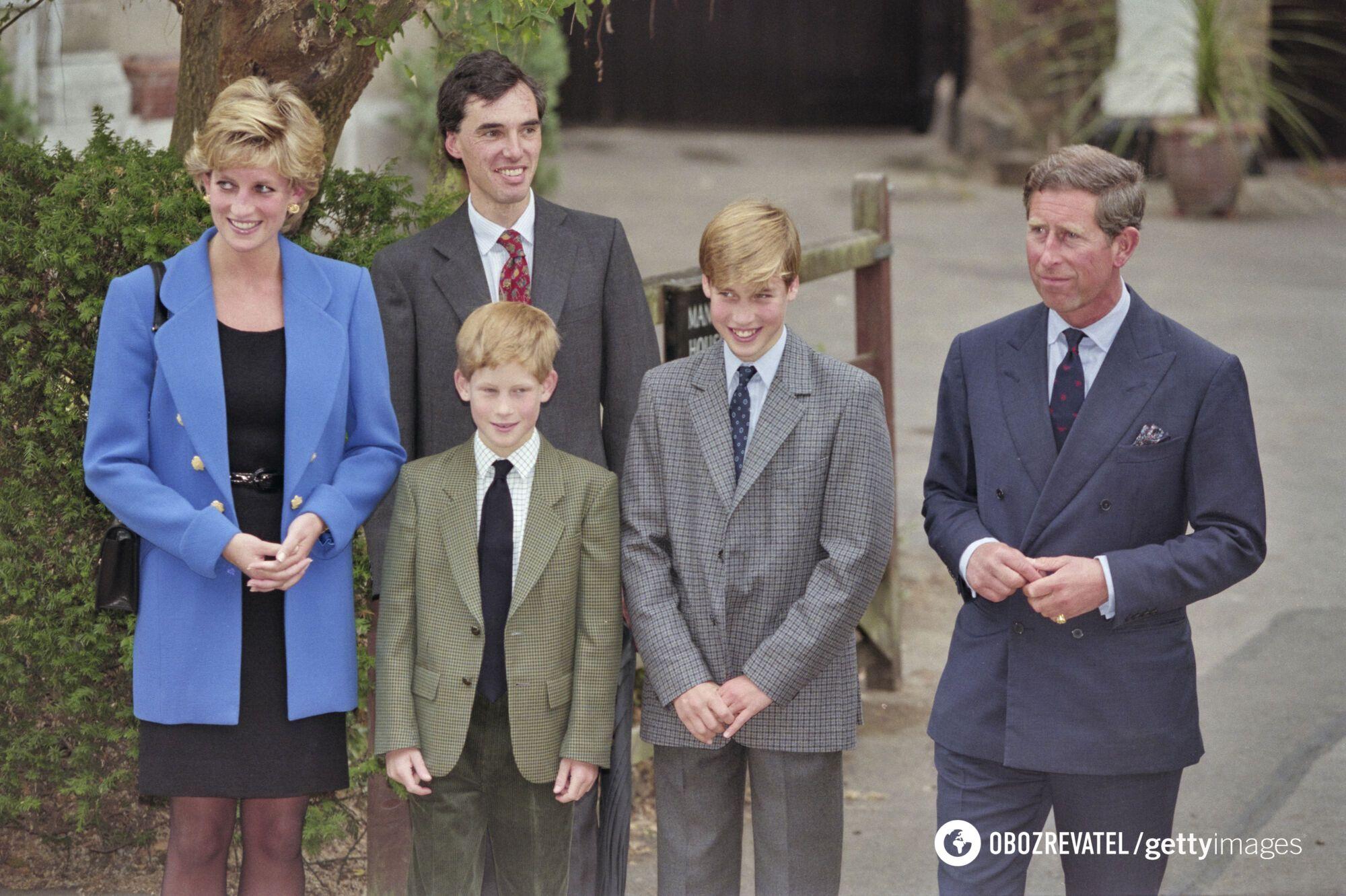 Как выглядела королевская семья
