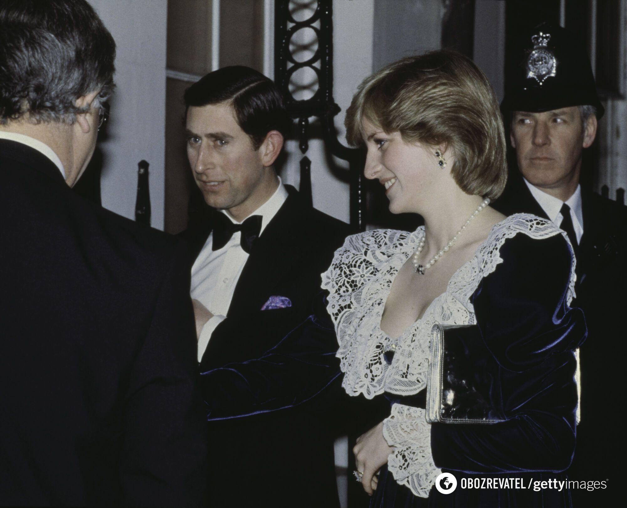 Принцесса Диана и ее супруг принц Чарльз