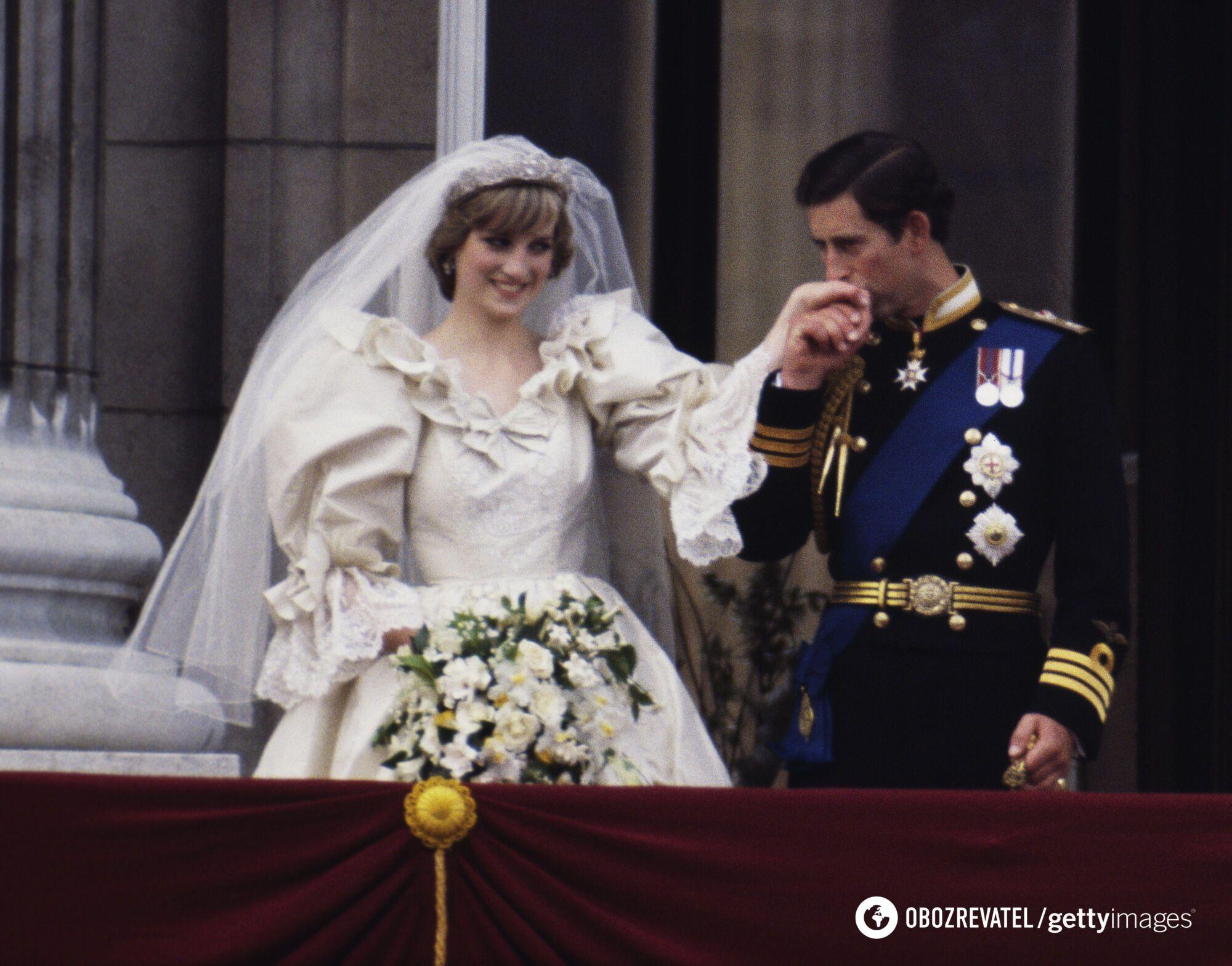 Свадьба леди Ди и принца Чарльза