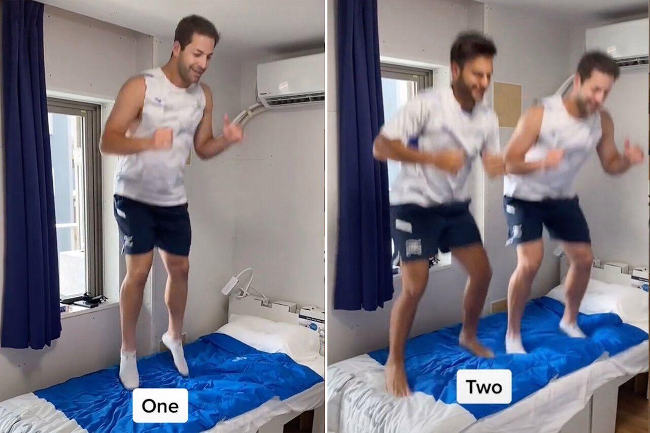 Спортсмены из Израиля записали курьезное видео.