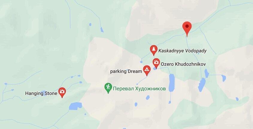 "ЧП произошло в районе Долины девяти озер парка ""Ергаки"""