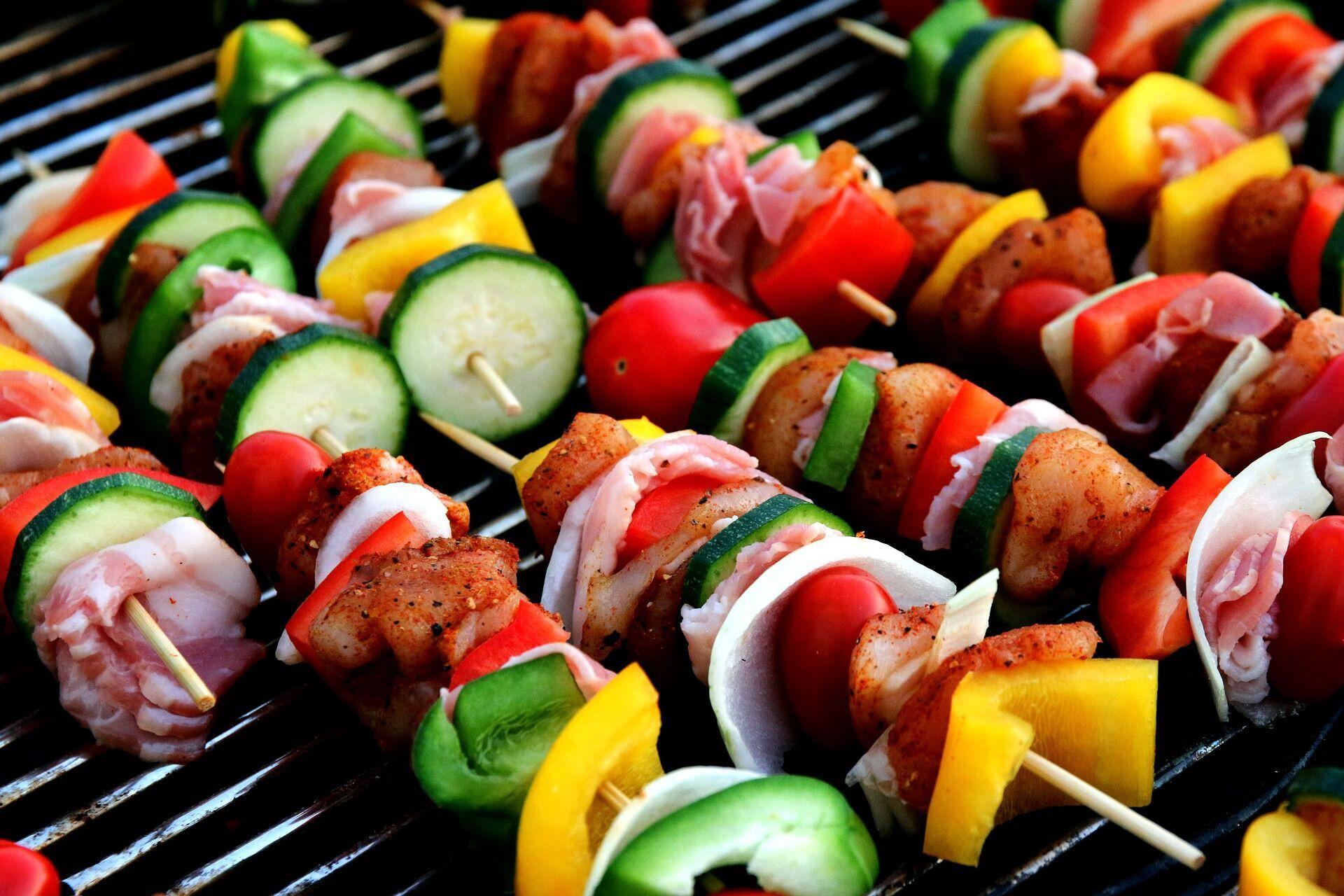 Запеченные овощи.