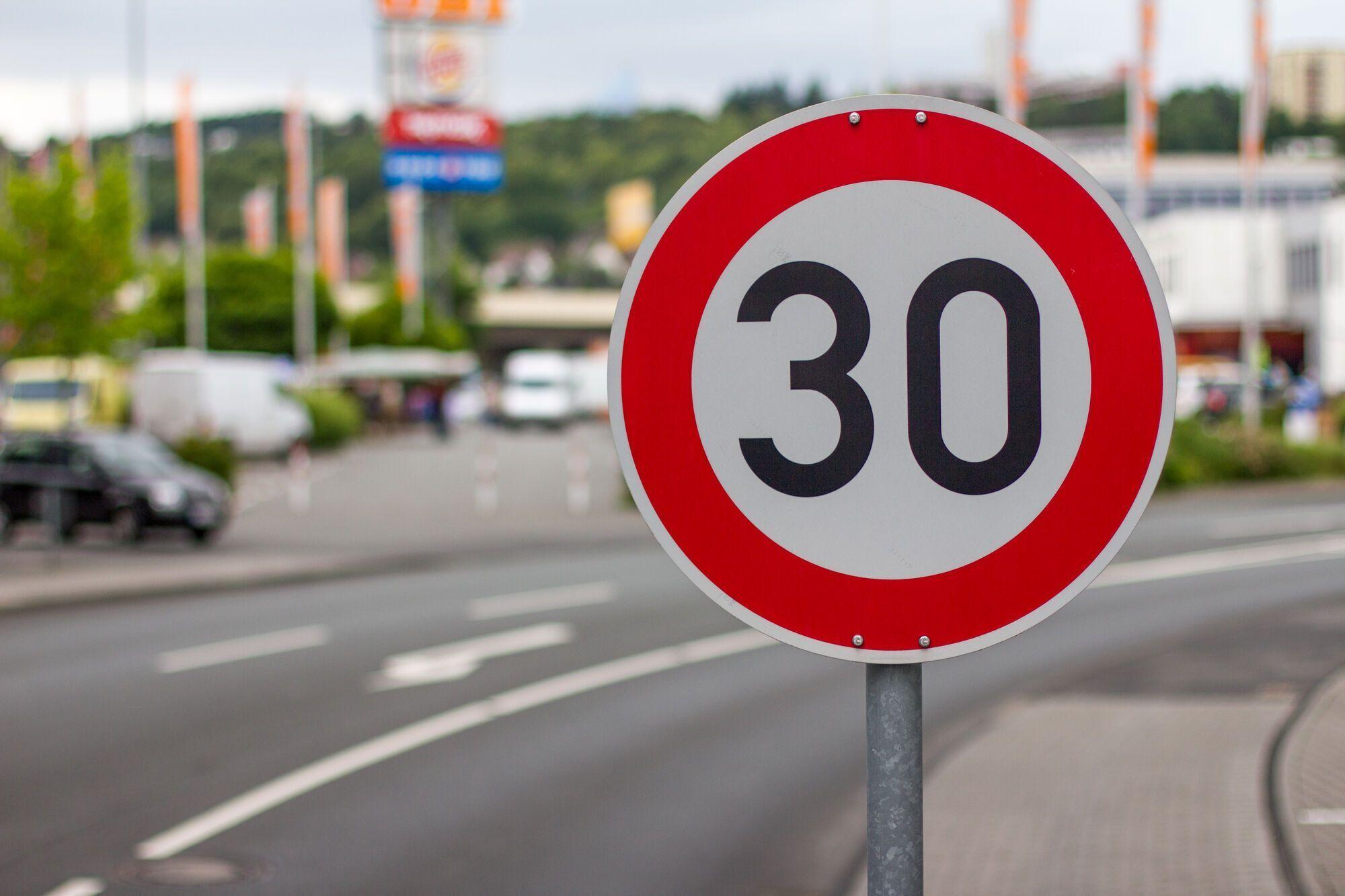 В Германии намерены ограничить скорость в городах