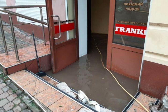 Потоп в одному з магазинів
