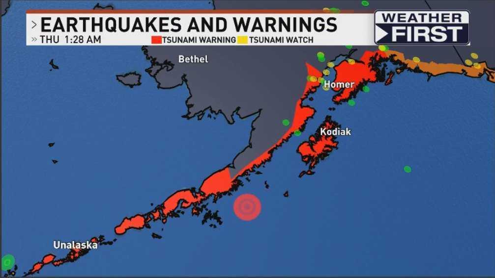 Жителей Аляски предупредили о цунами.
