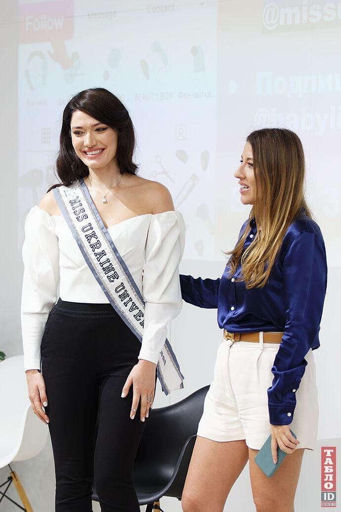 """""""Мисс Украина Вселенная"""" с президентом конкурса."""
