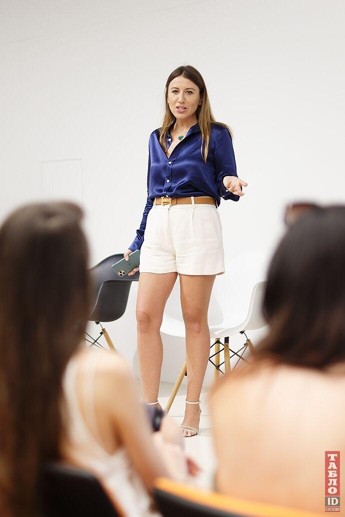 Президент конкурса Анна Филимонова.