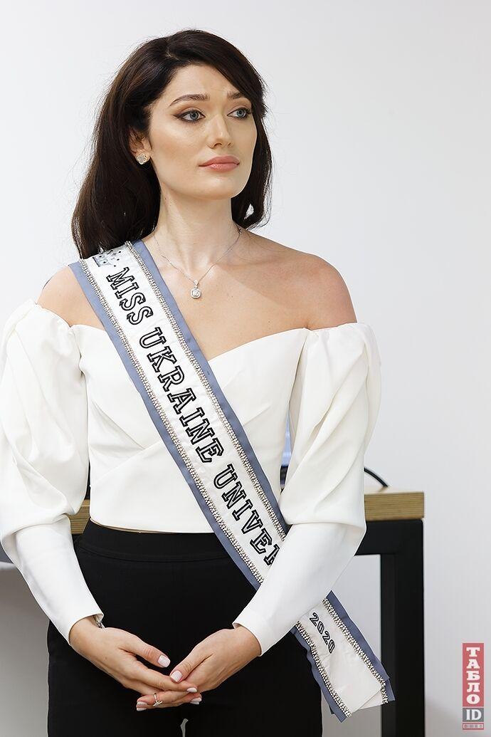 """""""Мисс Украина Вселенная"""" Елизавета Ястремская."""