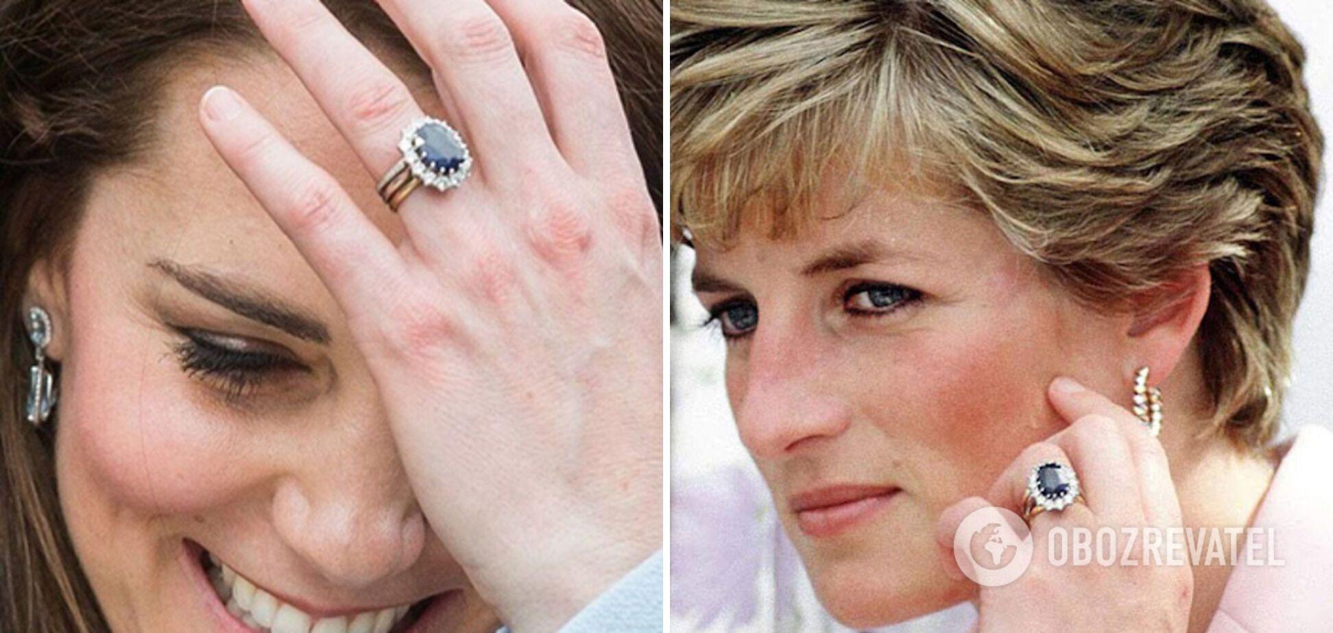 Принцесса Диана и Кейт Миддлтон.
