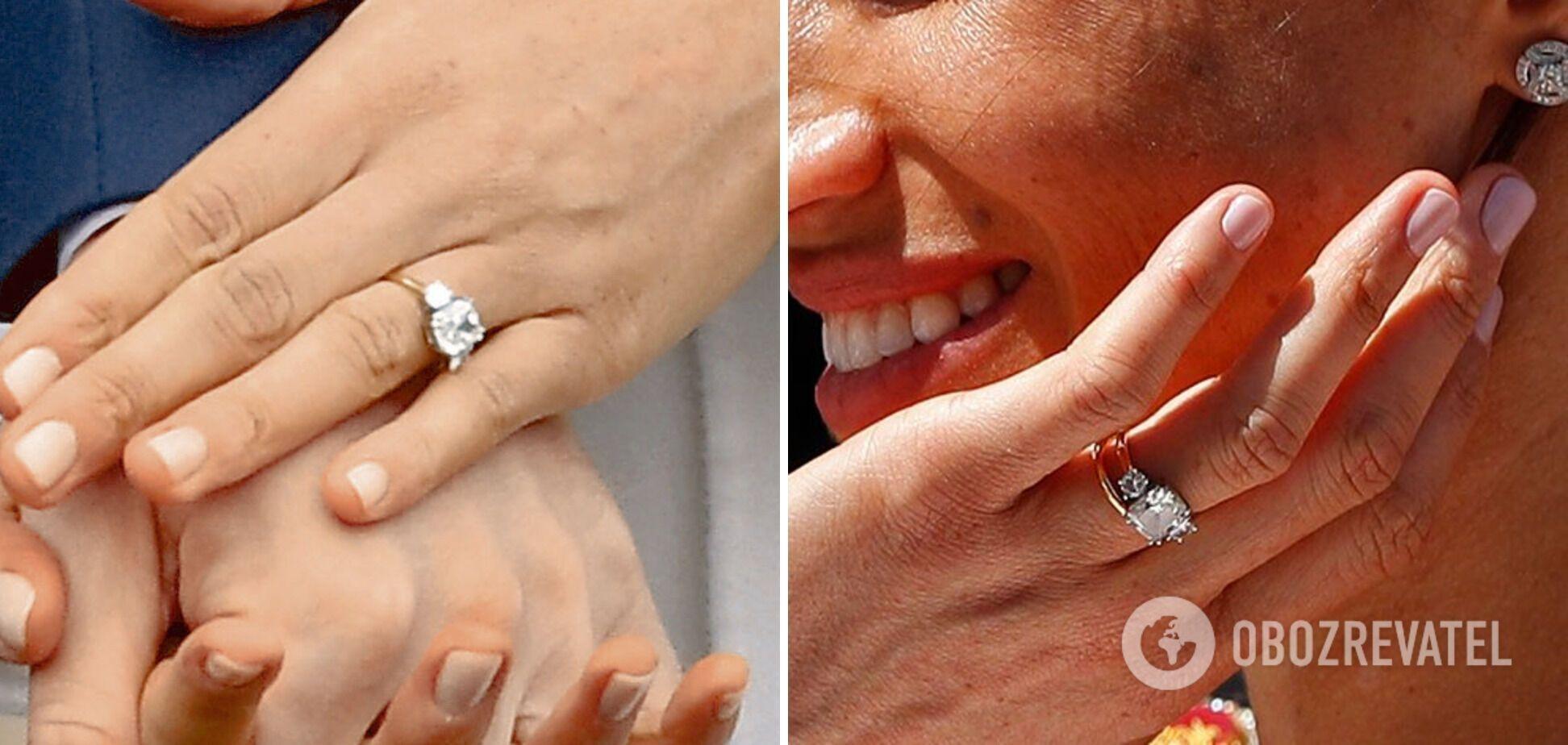 Кольцо Меган Маркл.