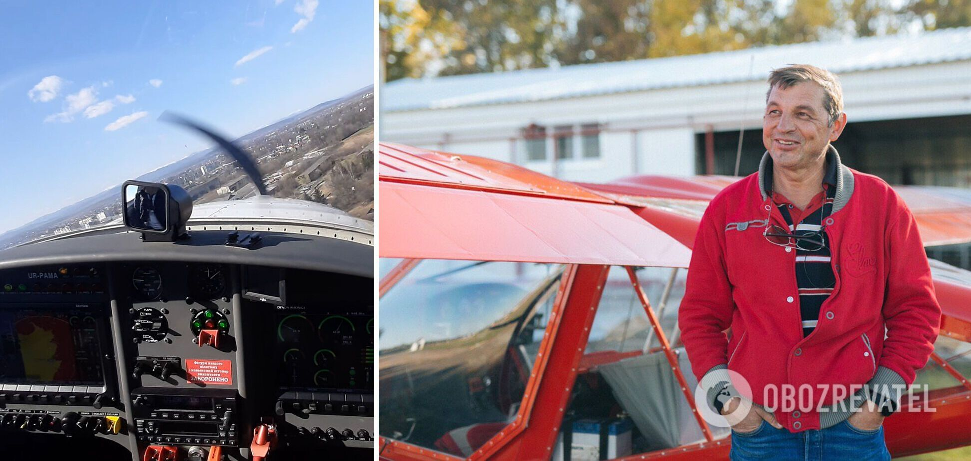 Ігор Табанюк провів в авіації 40 років