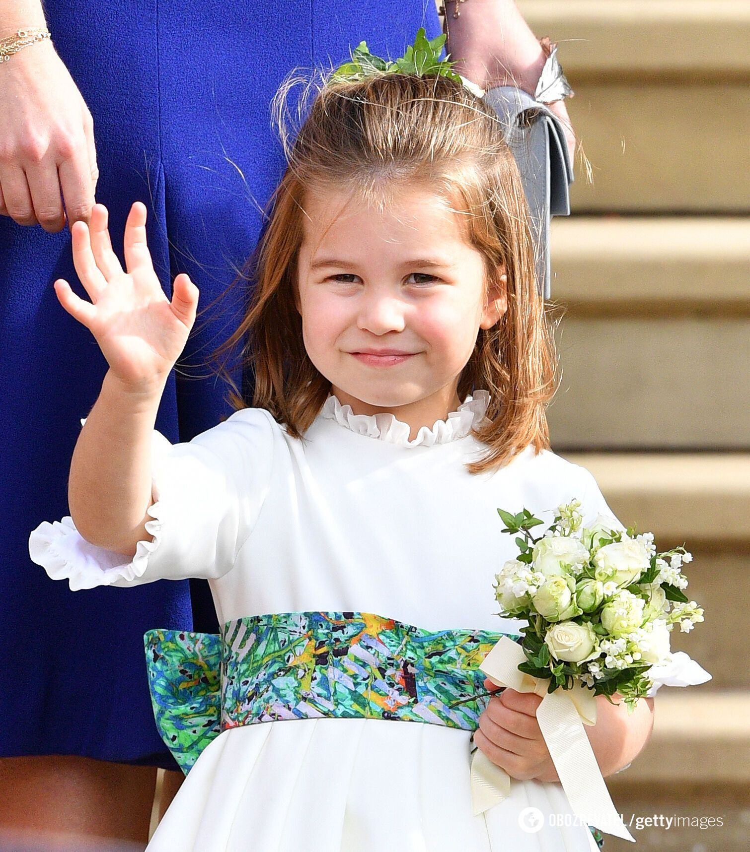 Маленька принцеса Шарлотта.