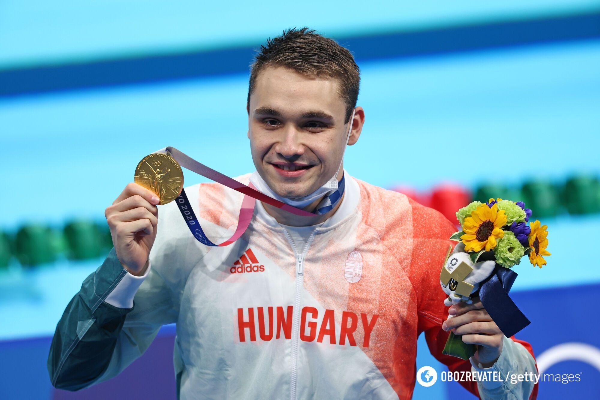 Кристоф Милак с медалью