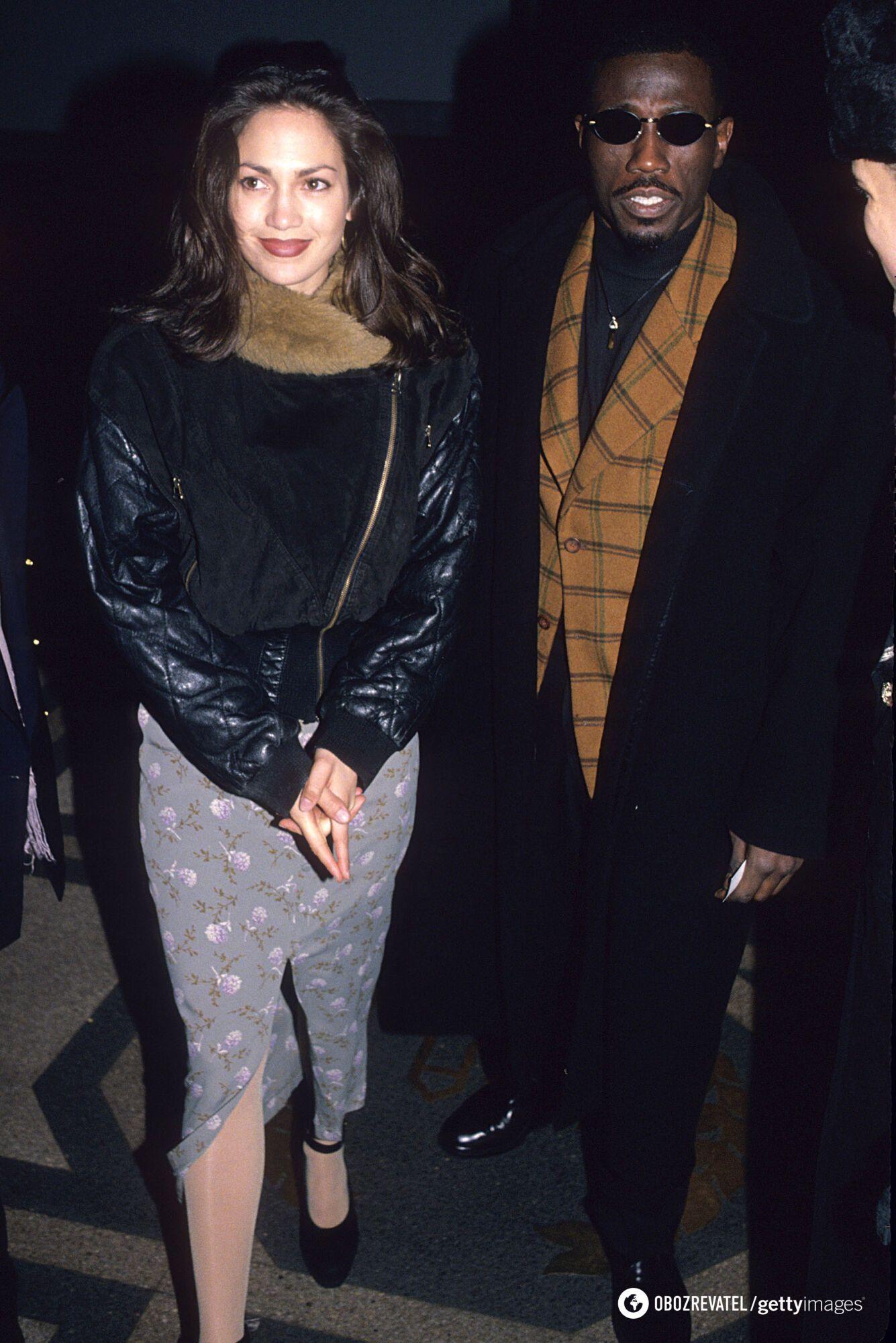 Джей Ло познайомилася з Веслі Снайпсом на зйомках фільму