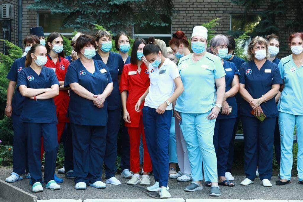 Коллектив больницы №5