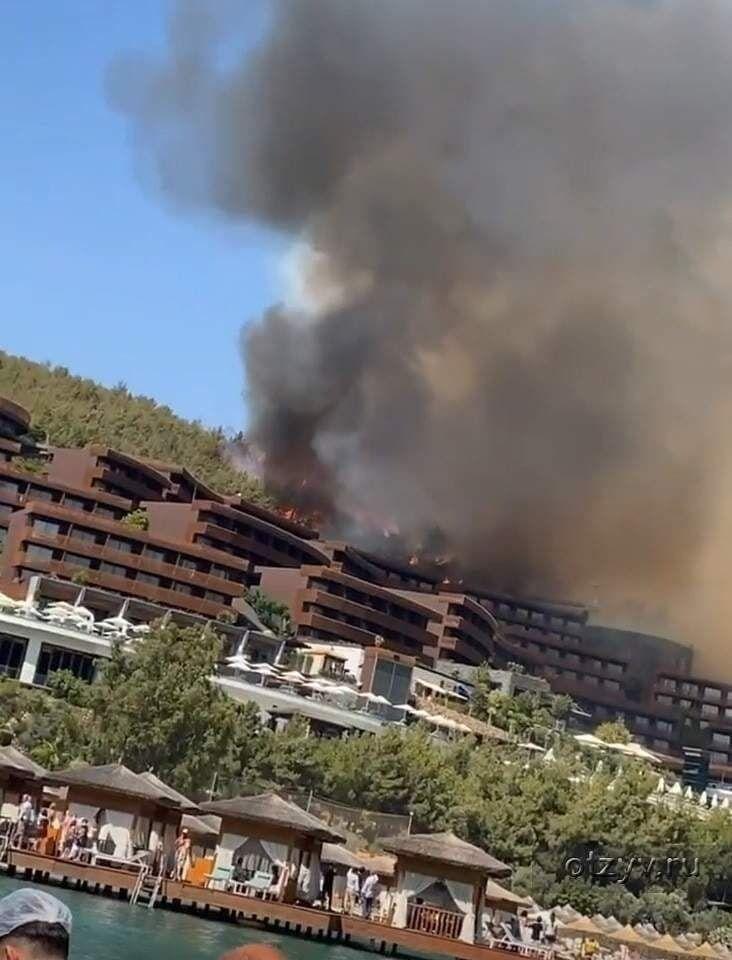 В Турции вспыхнул новый пожар.