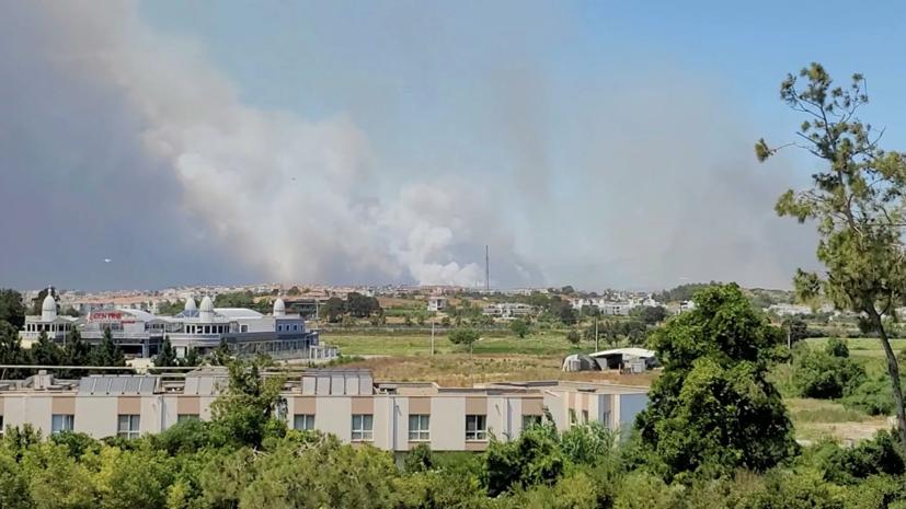 Пожежі в Туреччині.