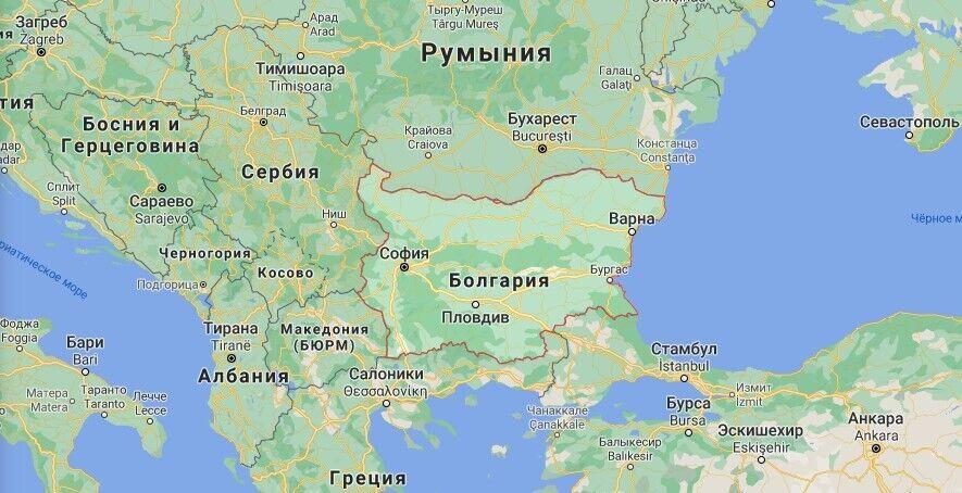Где находится Болгария