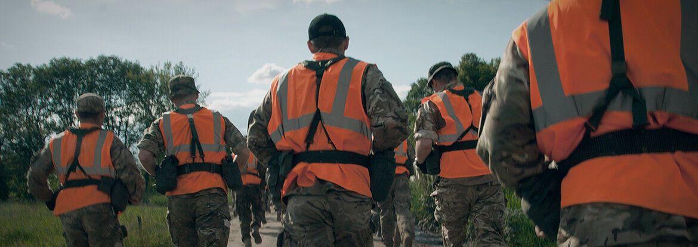 Тренировка воинов ССО