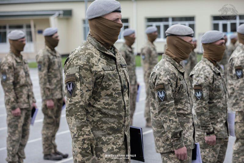 Бойцы из состава ССО принимают участие в ООС на Донбассе