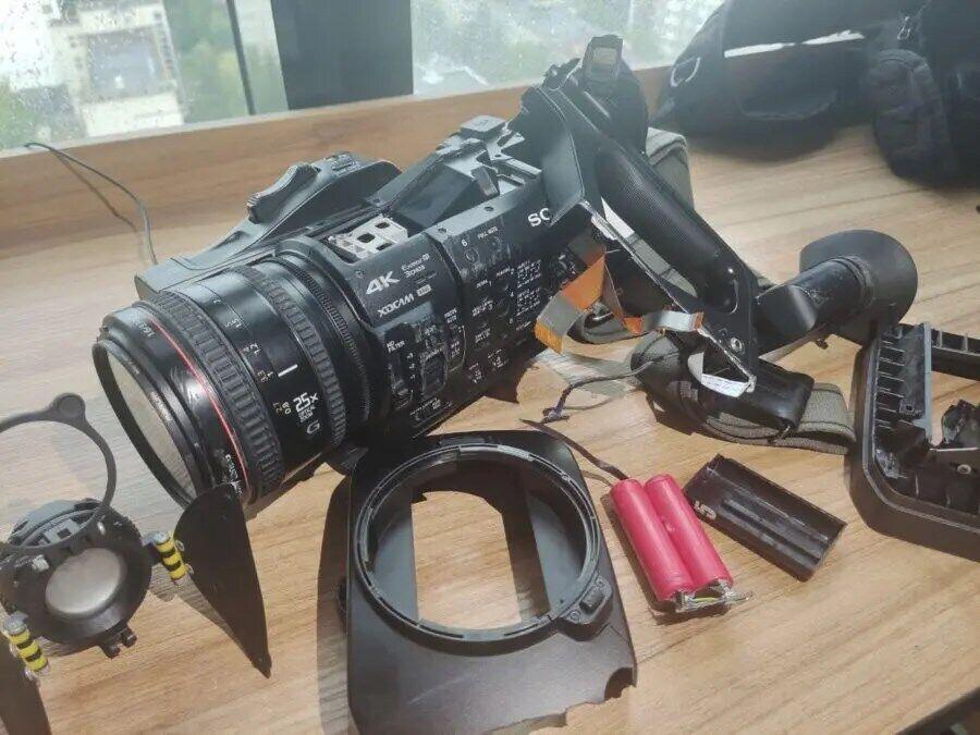 Пошкоджена камера - телеканалу D1