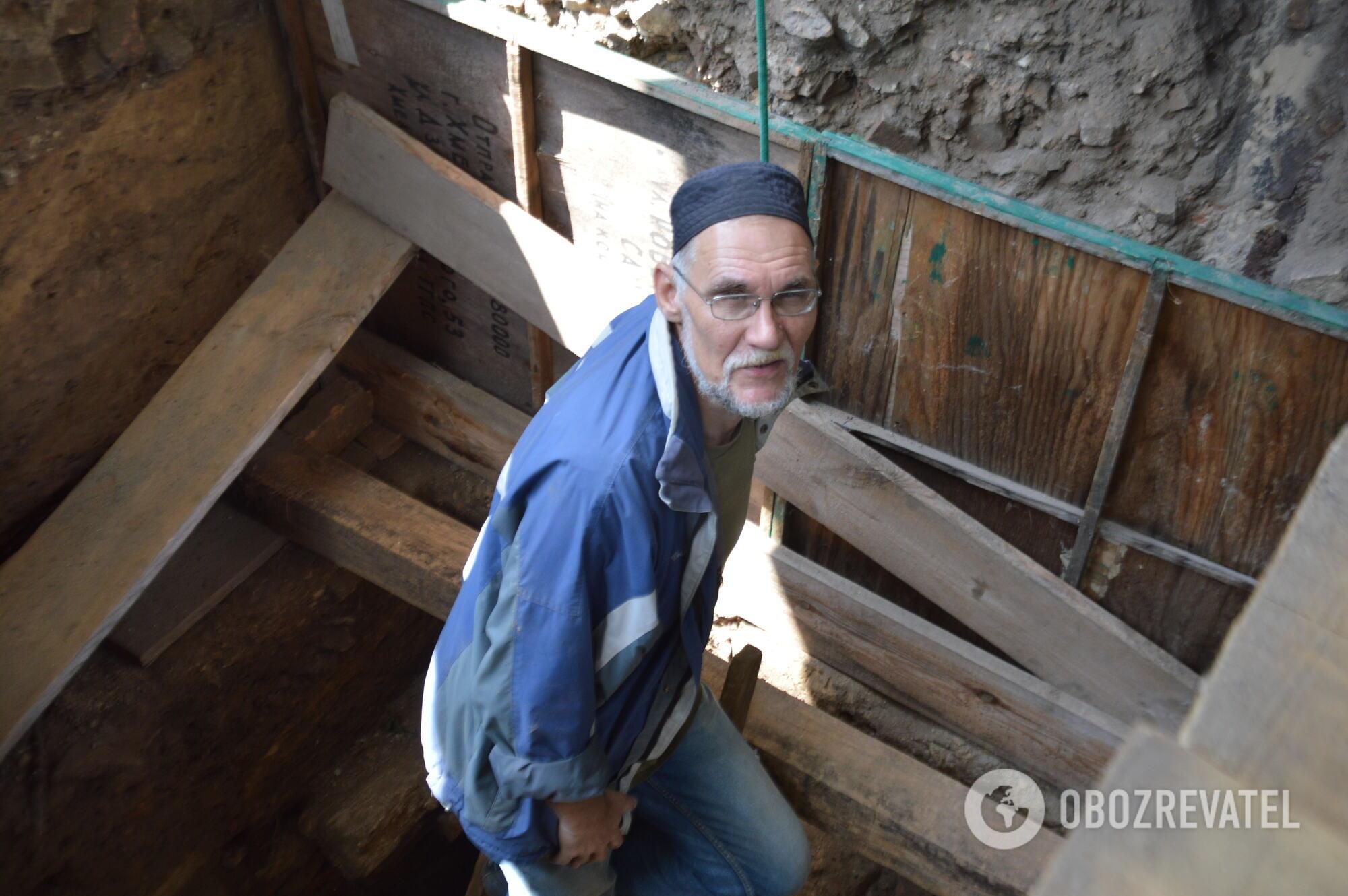 Археолог Тимур Бобровський розповів, що лабіринти – єдина споруда XVII століття на території Софії.
