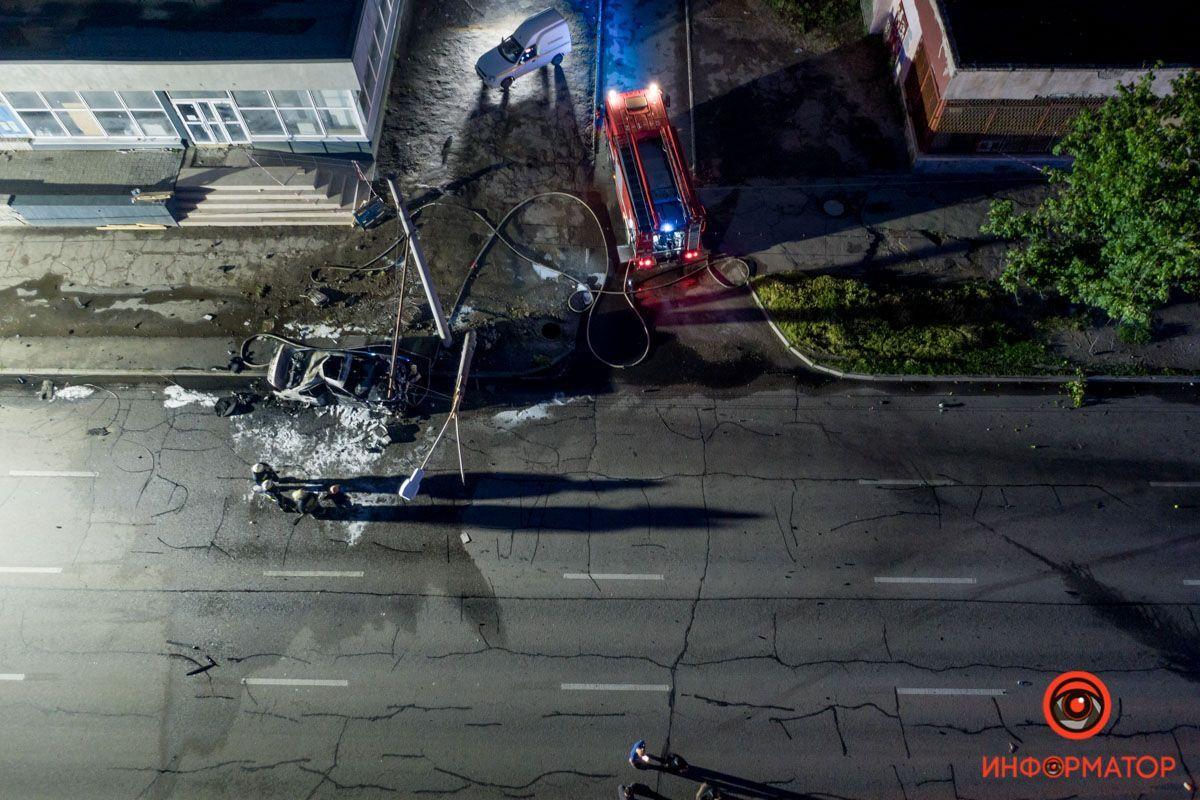 Смертельна аварія в Дніпрі.