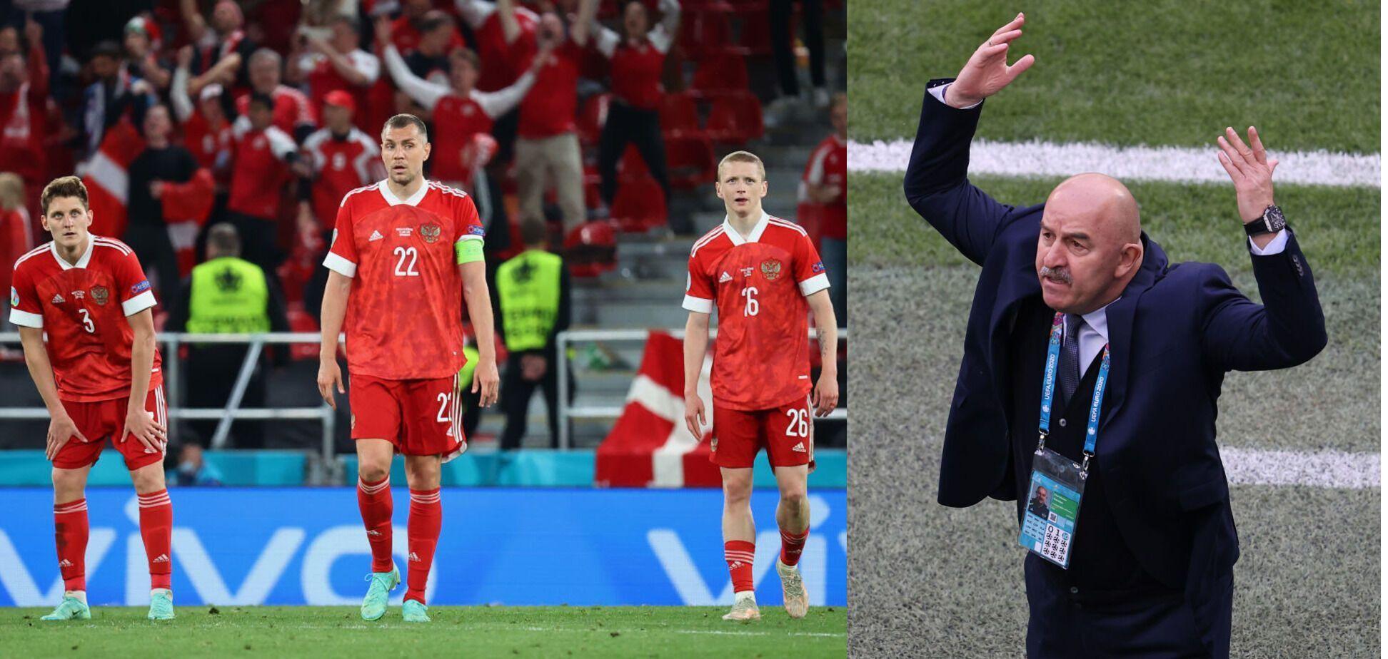 Станислав Черчесов зарабатывает 2,5 миллиона евро в год, но провалился с Россией на Евро-2020