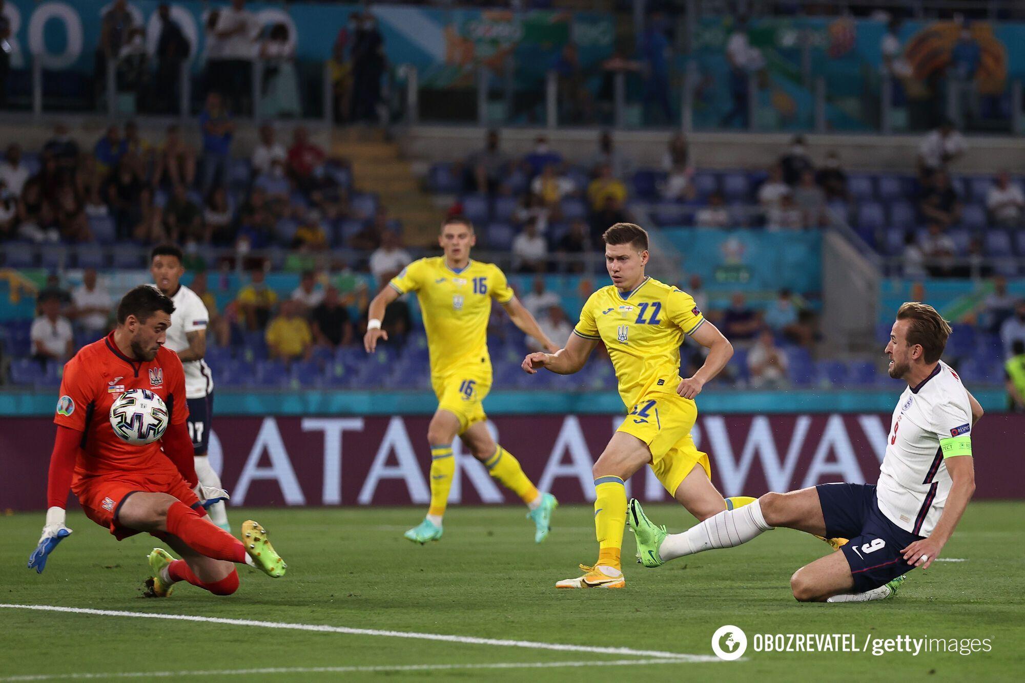 Україна вилетіла на стадії 1/4 фіналу Євро-2020.