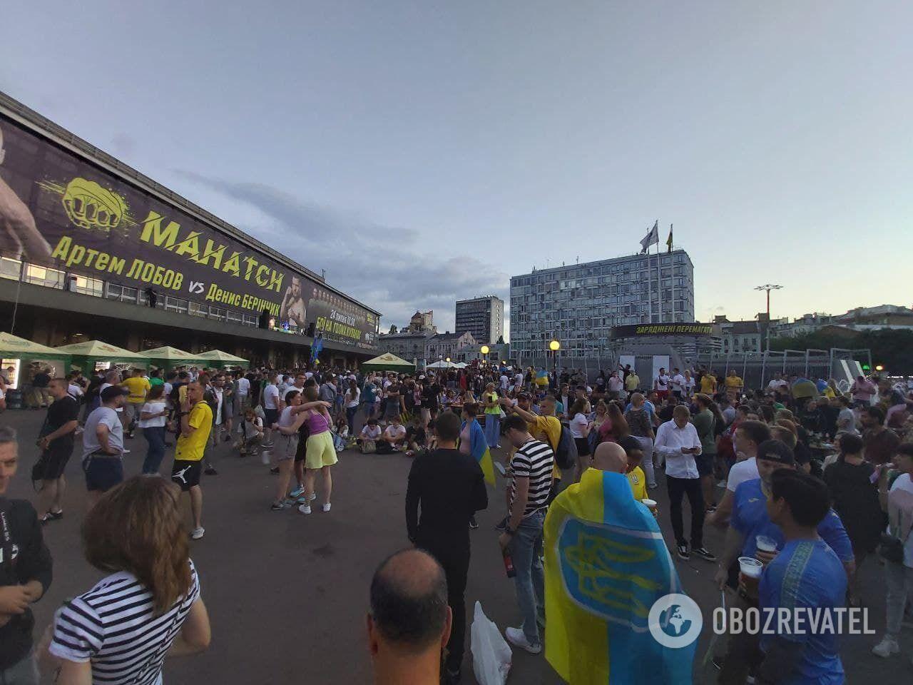 У Києві чекають матч.
