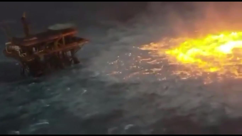 Пожар под водой